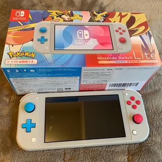 ニンテンドースイッチ(Nintendo Switch)のNINTENDO Switch Lite 美品(携帯用ゲーム機本体)