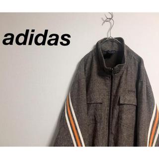 アディダス(adidas)の古着 adidas  アディダス ライン ビッグブルゾン ユニセックス(ブルゾン)