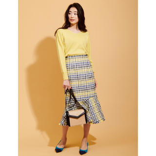 FRAY I.D - The Virgnia カラーチェックタイトスカート