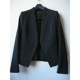 theory - theory 人気素材 ノーカラージャケット スーツ サイズ0