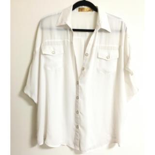 セシルマクビー(CECIL McBEE)のセシルマクビー ブラウス 大きいサイズもok(シャツ/ブラウス(半袖/袖なし))