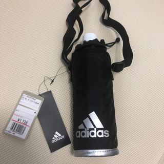 アディダス(adidas)のペットボトルホルダー adidas  新品未使用 ブラック(弁当用品)