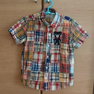 ダブルビー(DOUBLE.B)のダブルビー  110  半袖シャツ(ブラウス)