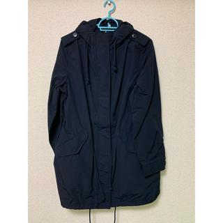 ムジルシリョウヒン(MUJI (無印良品))の無印良品 W4AD216 モッズコート ネイビー色 Lサイズ(ロングコート)