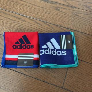 アディダス(adidas)のアディダス ハンカチ 2枚 ☆新品☆(その他)