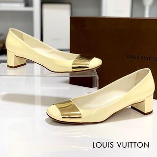 LOUIS VUITTON - 1573 ヴィトン パテント パンプス