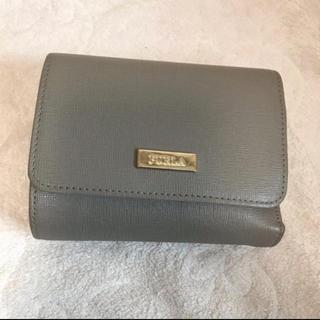 Furla - FURLA 三つ折り財布 グレー
