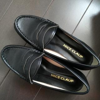 ナイスクラップ(NICE CLAUP)の黒色 ローファー(ローファー/革靴)