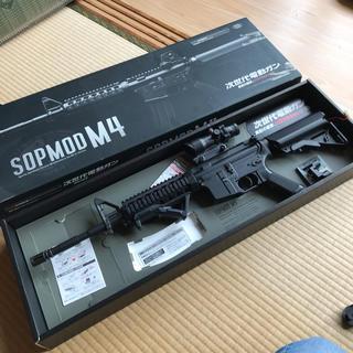 マルイ(マルイ)の次世代電動ガン SOPMOD M4 完動品 東京マルイ(電動ガン)