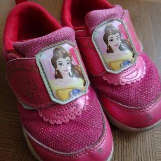 ディズニー(Disney)のプリスセス スニーカー 16センチ 女の子 ピンク メッシュ ディズニー (スニーカー)