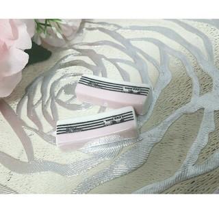 ポーセラーツ リボンシリーズ 淡いピンク 馬 馬車 お箸置き 2個セット(カトラリー/箸)