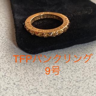 クロムハーツ(Chrome Hearts)のクロムハーツ TFPクロスパンクリング(リング(指輪))