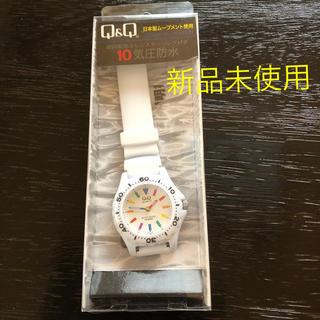 シチズン 10気圧防水 アナログウォッチ 【新品未使用】(腕時計)