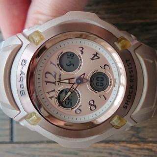 CASIO BabyG 腕時計 モーヴピンク 限定カラー メーカー修理点検済み