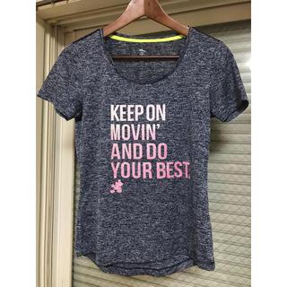 ディズニー(Disney)のトレーニングTシャツ ディズニー フィットネス速乾(ウェア)