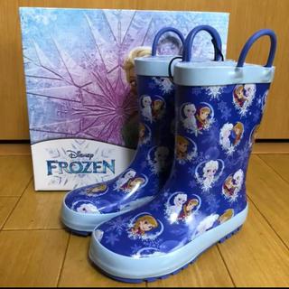 ディズニー(Disney)の【新品】キッズ 長靴 レインブーツ 17cm(長靴/レインシューズ)