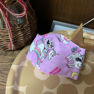 ディズニー(Disney)の子ども用接触冷感インナーマスク(その他)