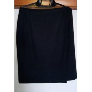 カルバンクライン(Calvin Klein)のカルバンクライン 膝丈 ラップスカート(ひざ丈スカート)