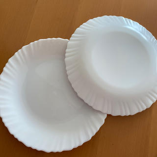 ヤマザキセイパン(山崎製パン)のヤマザキ春のパンまつり 白皿2枚(食器)