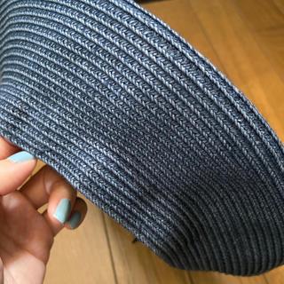 トゥモローランド(TOMORROWLAND)の美品。bronte 夏ベレー帽 tomorrowland(ハンチング/ベレー帽)
