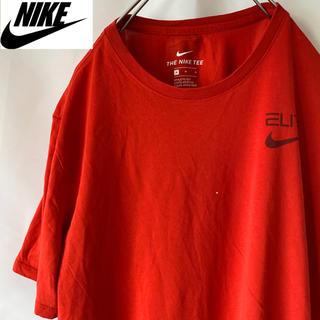 ナイキ(NIKE)の古着 ナイキ Tシャツ 赤(Tシャツ/カットソー(半袖/袖なし))