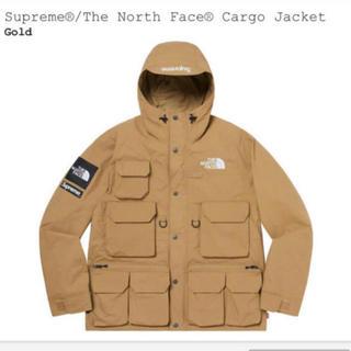 シュプリーム(Supreme)のsupreme the north face jacket L gold(マウンテンパーカー)