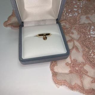 18K  ダイヤモンド スウィング リング(リング(指輪))