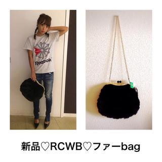 ロデオクラウンズワイドボウル(RODEO CROWNS WIDE BOWL)の値下げ♡新品♡RCWB♡ファーbag♡(ショルダーバッグ)