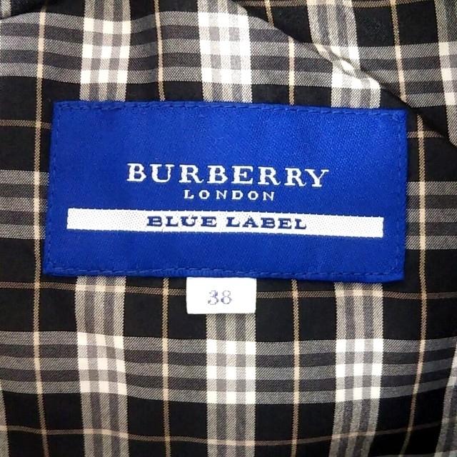 BURBERRY BLUE LABEL(バーバリーブルーレーベル)のBURBERRY BLUE LABEL レディースのジャケット/アウター(ダウンベスト)の商品写真