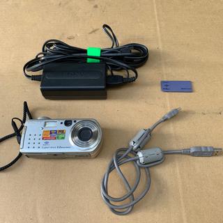 ソニー(SONY)のSONYサイバーショット DSC-P5(コンパクトデジタルカメラ)