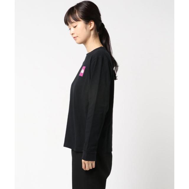 THE NORTH FACE(ザノースフェイス)のTHE NORTH FACE Square Logo Sleeve Tee メンズのトップス(Tシャツ/カットソー(七分/長袖))の商品写真