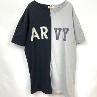 AVIREX - AVIREX アヴィレックス 半袖Tシャツ 黒グレー Lサイズ ミリタリー