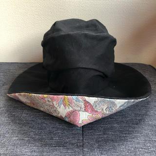 シマムラ(しまむら)のリバティプリント 帽子(ハット)