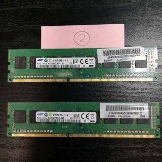 サムスン(SAMSUNG)のデスクトップPC用 物理メモリ(SAMSUNG) DDR3 PC3-12800②(PCパーツ)