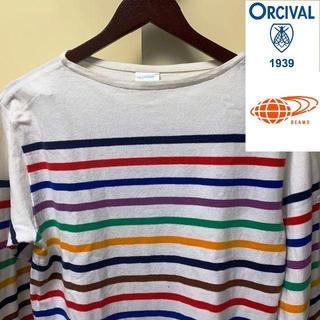 オーシバル(ORCIVAL)のBEAMS ビームス 別注 ORCIVAL オーシバル バスクシャツ 5 (L)(Tシャツ/カットソー(七分/長袖))