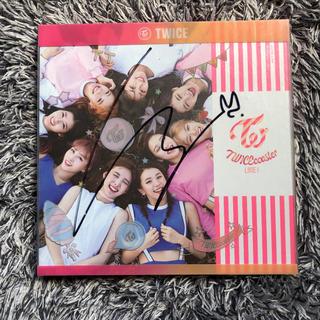 TWICEcoaster チェヨン直筆サイン入り(K-POP/アジア)