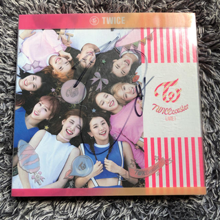 TWICEcoaster JIHYO直筆サイン入り(K-POP/アジア)