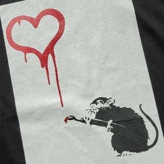 ビューティアンドユースユナイテッドアローズ(BEAUTY&YOUTH UNITED ARROWS)のユナイテッドアローズ×バンクシー Love Rat Tシャツ(Tシャツ/カットソー(半袖/袖なし))