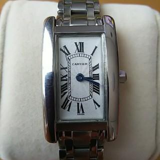 カルティエ(Cartier)のCartier タンクアメリカン 社外品(腕時計)