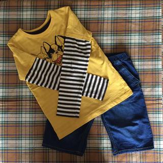 BREEZE -  BREEZE☆Tシャツ ロンT ハーフパンツset