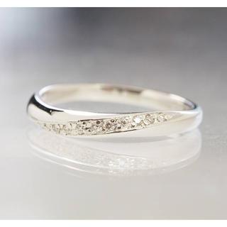 ヨンドシー(4℃)の質屋出品ii 4℃ ヨンドシー 天然ダイヤモンドプラチナリング Pt950(リング(指輪))