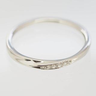 ヨンドシー(4℃)の質屋出品r 4℃ ヨンドシー 天然ダイヤモンドプラチナリング Pt950(リング(指輪))