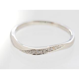 ヨンドシー(4℃)の質屋出品il 4℃ ヨンドシー 天然ダイヤモンドプラチナリング Pt950(リング(指輪))