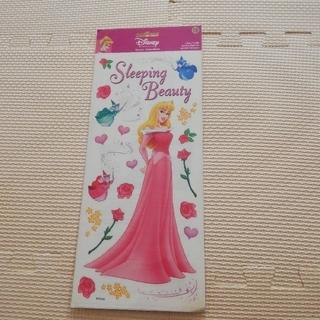 オーロラヒメ(オーロラ姫)のディズニー 眠れる森の美女 オーロラ姫 ステッカー シール 未開封(シール)