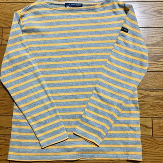 セントジェームス(SAINT JAMES)のSAINT JAMESボーダー柄バスクシャツ(カットソー(長袖/七分))