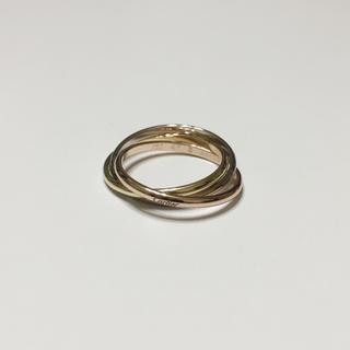 カルティエ(Cartier)の カルティエ トリニティリング 現行品(リング(指輪))