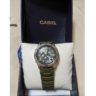 カシオ(CASIO)のカシオ OVERLAND オーバーランド タフソーラー電波時計 クロノグラフ(腕時計(アナログ))