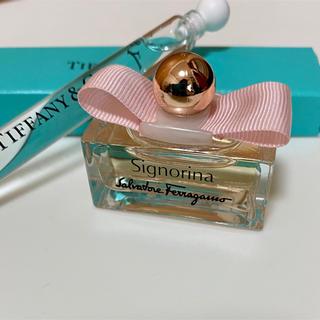 ティファニー(Tiffany & Co.)のティファニー・Ferragamo 香水サンプル(香水(女性用))