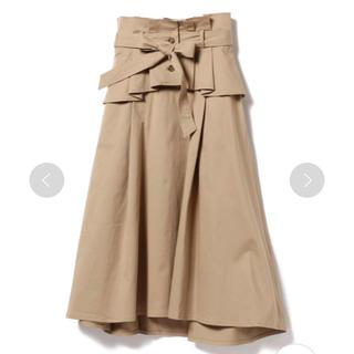 レイビームス(Ray BEAMS)の最終値下げ1万円オフ 新品送料込 BEAMS コルセット付ロングスカート(ロングスカート)
