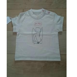 ファミリア(familiar)の★新品★オーガニックコットン Tシャツ 70cm/GAP/ベネトン(Tシャツ)